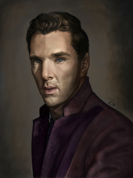 Benedict Cumberbatch by luvian-elf