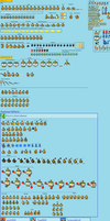 Bowser Jr. BIS-Sprite Sheet by NeoZ7