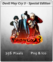 Devil May Cry 3 SE - Icon by Crussong