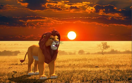 The Lion King by AlexFly