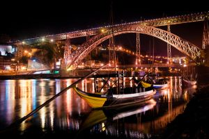 Oporto by night by TheRaider