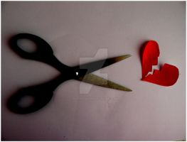 Cutting Hearts by xkathastrophee