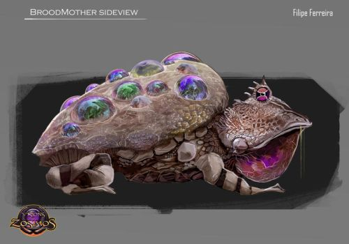 BroodMother concept by FilipeHattori
