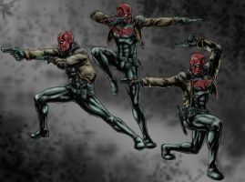 Red Hood Gun Kata by kelbykross
