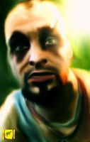 Vaas (Far Cry 3) by FictionFathersArtist