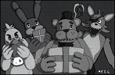 Holiday Nights at Freddy's by MistressCat