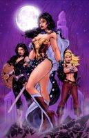Wonder Women by Jim Lee by StephenSchaffer