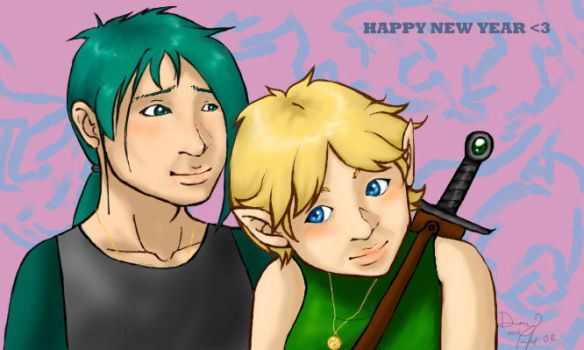 Happy New Years Hoshi :heart: by thedeanna