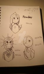 Inktober Days One-Three! Perfect Pearls by RoobyRed