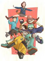 FLCL by JonEastwood