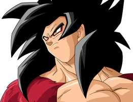 Goku ssj4 by maffo1989