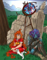 Reverence - for slayers xmas by secondlina