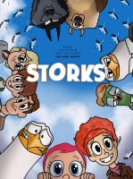 Storks remake poster by JustSomePainter11