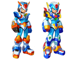 Third and Fourth Armor by ultimatemaverickx