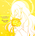 Huevember Day 3 - Floral Lights by LucciolaCrown