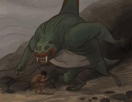 Wina and The Seawolf by atomicman