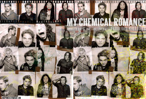 My Chemical Romance Wallpaper by Mcrpunk08