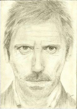 Hugh Laurie by SevGB