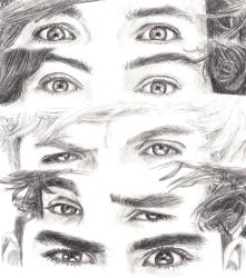 One Direction eyes by Bree-Style