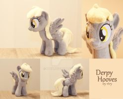 Derpy Hooves plushie by rtry