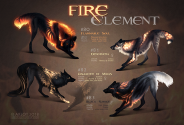 Fire Element Collection |CLOSED by areot