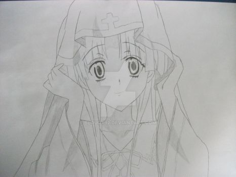 Asia Argento from : HighSchool DxD by Bloudy92