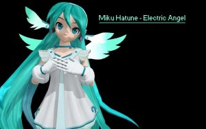 [MMD] Miku Hatsune - Electric Angel by LeeTaemin97