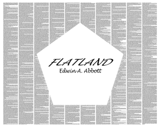 Flatland by postertext