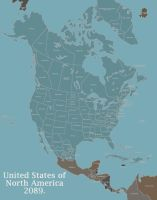 United States of North America 2089 by LaTexiana