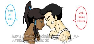 Makorra: You're an idiot by allhailnarusama
