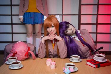 Doki Doki Literature Club Cosplay by Tenori-Tiger