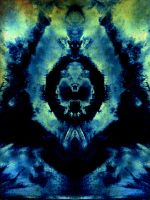 ABSTRACT SKULL by WeirdDarkness