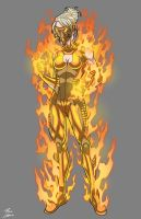 Immolation commission by phil-cho