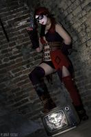 Harley Quinn: Injustice - Cosplay by Thecrystalshoe