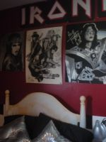 Posters Above Bed by aerokay