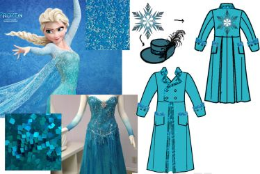 Elsa Captain Design by Ldrmas