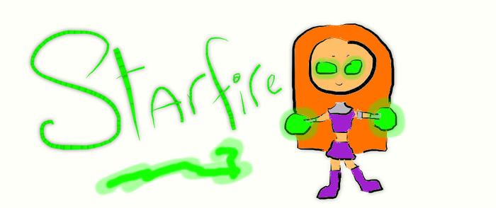Paper Starfire by Bluegrove6