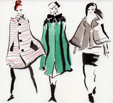 Fall Capes - Vogue by DisintegrationStreet
