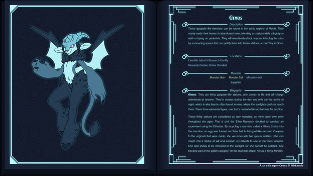 Glacies, the Frost Demon by Azure-Dragon-Cross