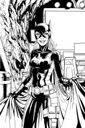 Red Robin batgirl by DHinking