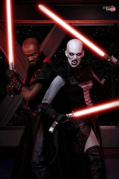 Sith Duo by MissSinisterCosplay