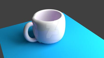 Mug render - made in Blender by quixoticduck