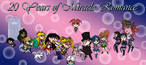 (Sailor Moon) 20 Years of Miracle Romance (FINAL) by LordQuadros