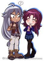 Prize::. Chibi CelestialShipping by Priss-BloodEmpress