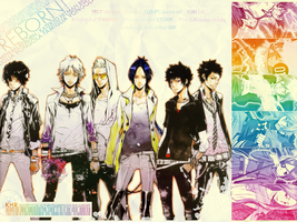 K. Hitman REBORN Wallpaper by WingsOfLight