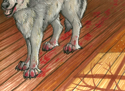 Dirty Paws by ZackLoup