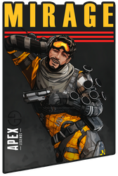 Mirage | Psyche Out | Apex Legends