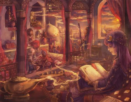 The Book of the Tale of a Thousand Nights by Reluin