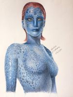 Finally, Mystique by lenishioka