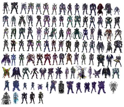 108 Specters Corrected by Cerberus-rack